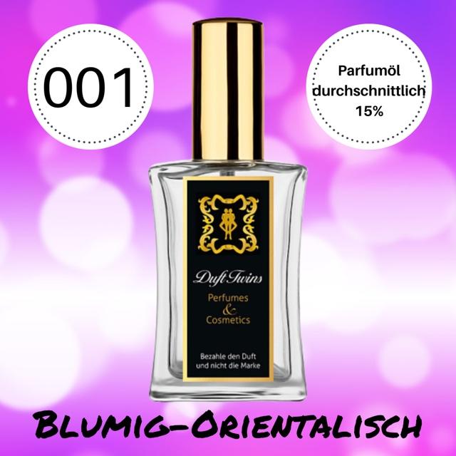 Bild zum Artikel Eau de Parfum fr Damen DuftTwins.eu - No.001 - Blumig Orientalisch S