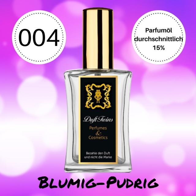 Bild zum Artikel Eau de Parfum fr Damen DuftTwins.eu - No.004 - Blumig Pudrig Frisch S