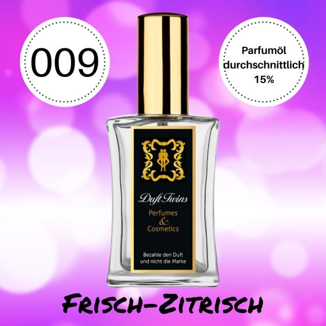 Bild zum Artikel Eau de Parfum fr Damen DuftTwins.eu - No.009 - Frisch Zitrisch Aquatisch Fruchtig