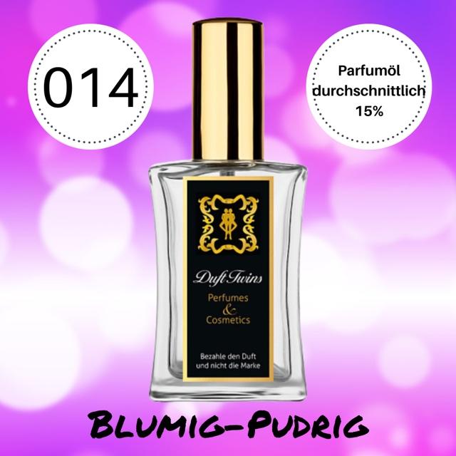 Bild zum Artikel Eau de Parfum fr Damen DuftTwins.eu - No.014 - Blumig Pudrig Frisch S Holzig
