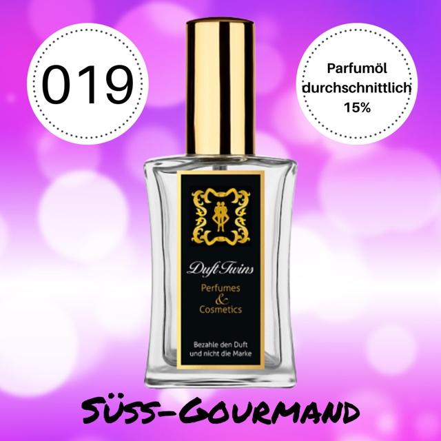 Bild zum Artikel Eau de Parfum fr Damen DuftTwins.eu - No.019 - S Gourmand Pudrig Orientalisch