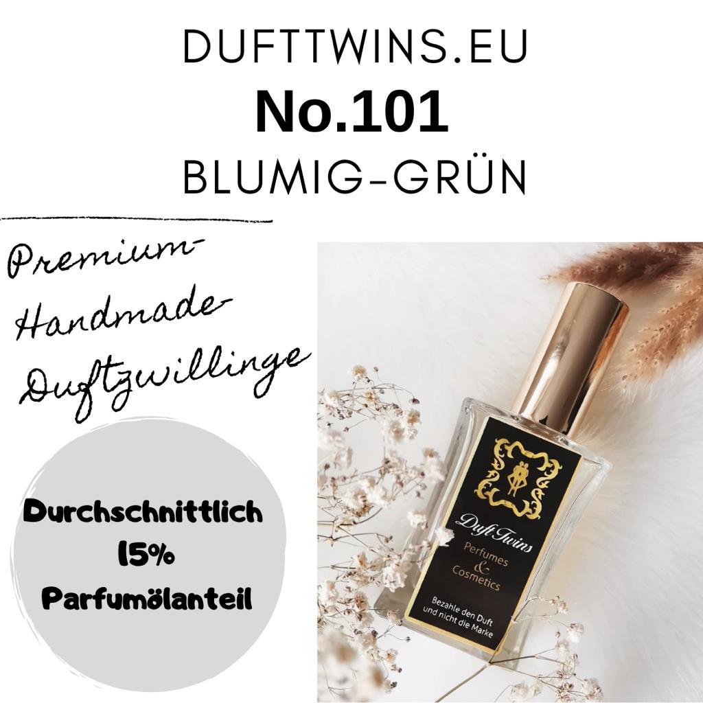 Bild zum Artikel Eau de Parfum fr Damen und Herren Unisex - No.101 - Blumig Grn Holzig Frisch