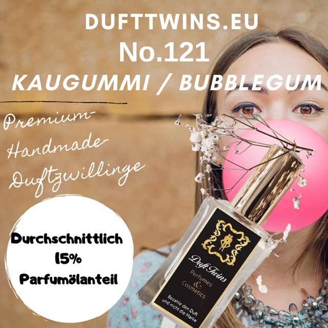 Bild zum Artikel Eau de Parfum fr Damen Pure Essence No.121 Kaugummi  Bubblegum  Bubble-Gum