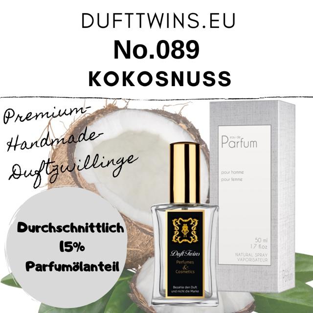 Bild zum Artikel Eau de Parfum fr Damen Pure Essence No.089 Pure Kokosnuss  Coconut
