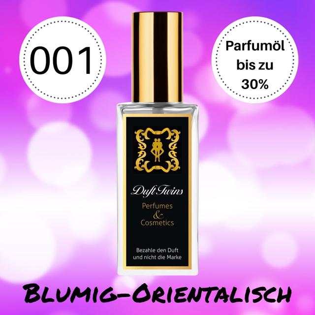 Bild zum Artikel: Extrait de Parfum für Damen DuftTwins.eu - No.001 - Blumig Orientalisch Süß