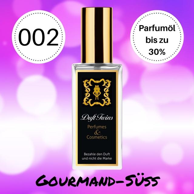 Bild zum Artikel: Extrait de Parfum für Damen DuftTwins - DT002 - Gourmand Süß Orientalisch Würzig