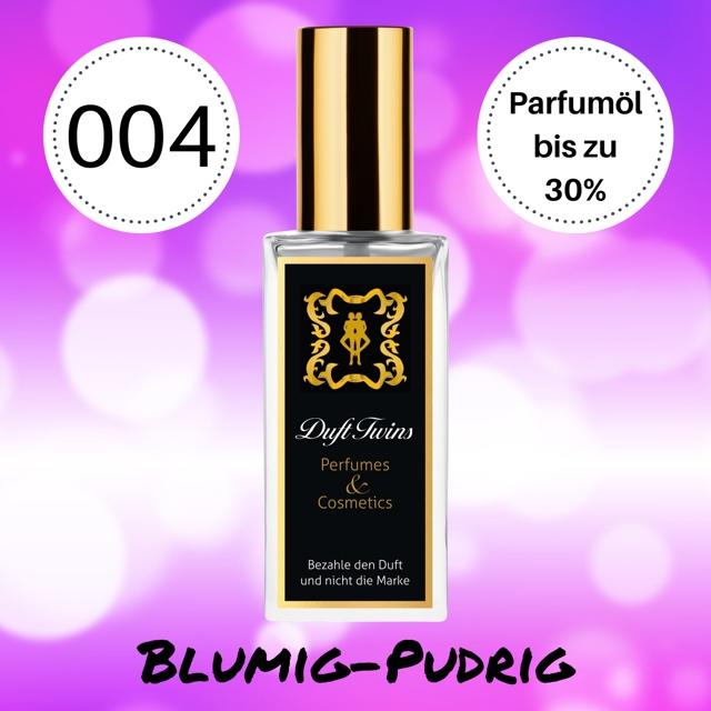 Bild zum Artikel: Extrait de Parfum für Damen DuftTwins - DT004 - Blumig Pudrig Frisch Süß