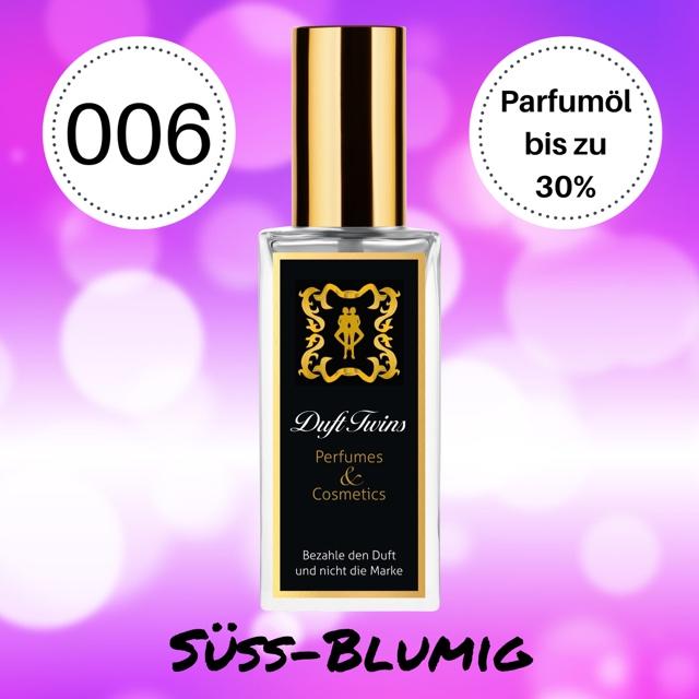 Bild zum Artikel: Extrait de Parfum für Damen DuftTwins - DT006 - Süß Blumig Fruchtig Synthetisch