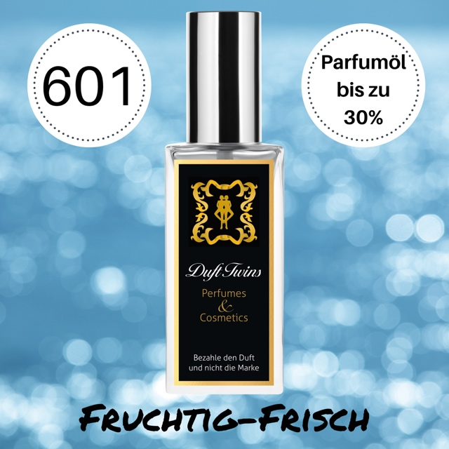 Bild zum Artikel: Extrait de Parfum für Herren DuftTwins - DT601 - Fruchtig Frisch Süß Holzig Würzig