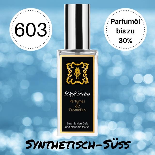 Bild zum Artikel: Extrait de Parfum für Herren DuftTwins - DT603 - Synthetisch Süß Frisch Fruchtig Aquatisch