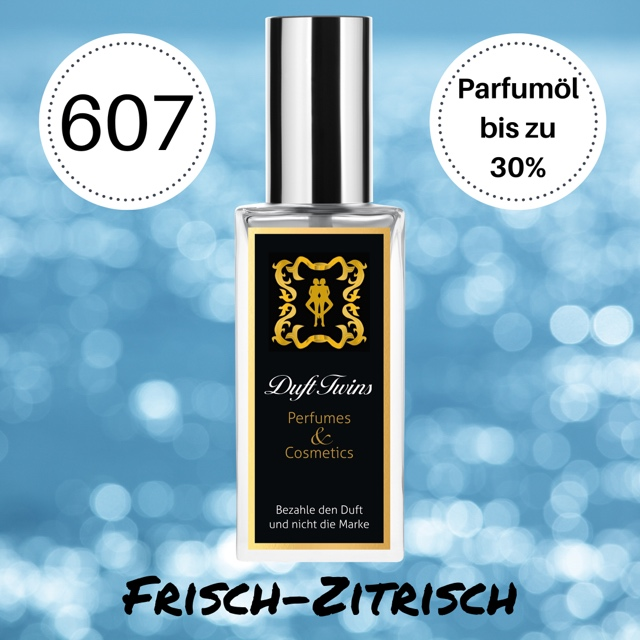 Bild zum Artikel: Extrait de Parfum für Herren DuftTwins - DT607 - Frisch Zitrisch Holzig Würzig Aquatisch
