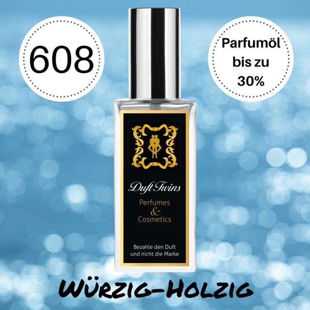 Bild zum Artikel: Extrait de Parfum für Herren DuftTwins - DT608 - Würzig Holzig Ledrig Rauchig Blumig