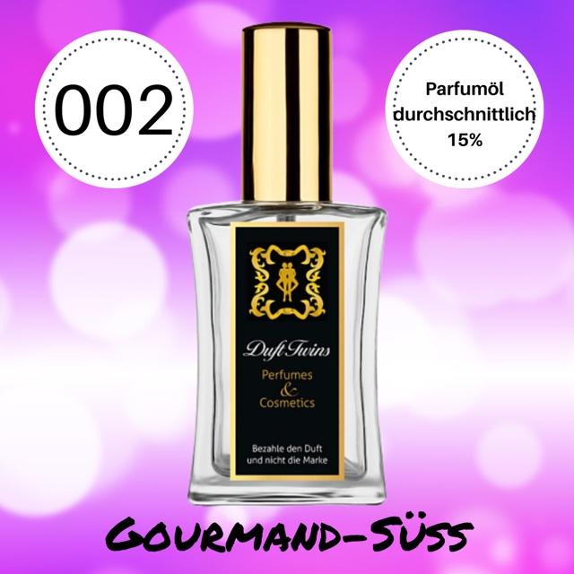 Bild zum Artikel: Eau de Parfum für Damen DuftTwins.eu - No.002 - Gourmand Süß Orientalisch Würzig