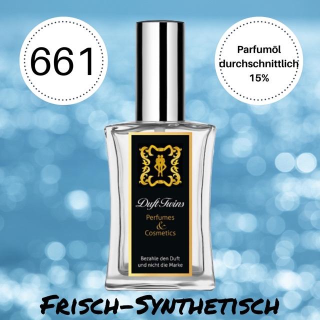 Bild zum Artikel: Eau de Parfum für Herren DuftTwins.eu - No.661 - Frisch Synthetisch Holzig Zitrisch Würzig