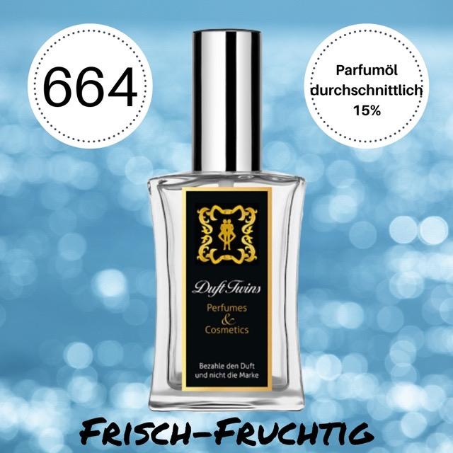 Bild zum Artikel: Eau de Parfum für Herren DuftTwins.eu - No.664 - Frisch Fruchtig Synthetisch Zitrisch Süß