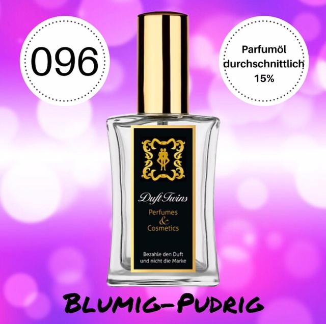 Bild zum Artikel: Eau de Parfum für Damen DuftTwins.eu - No.096 - Blumig Pudrig Synthetisch Süß