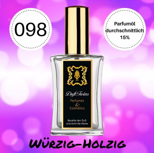 Bild zum Artikel: Eau de Parfum für Damen DuftTwins.eu - No.098 - Würzig Holzig Chypre Blumig Grün