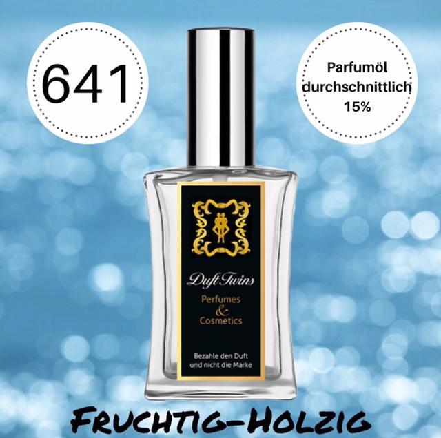 Bild zum Artikel: Eau de Parfum für Herren DuftTwins.eu - No.641 - Fruchtig Holzig Süß Frisch
