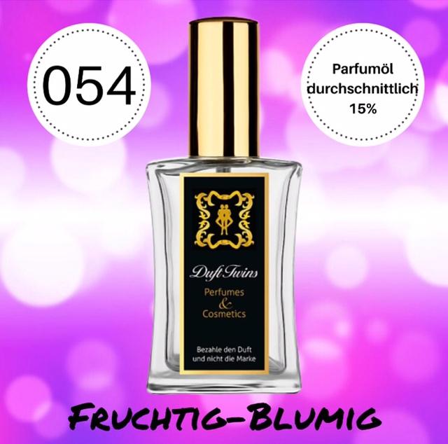 Bild zum Artikel: Eau de Parfum für Damen DuftTwins.eu - No.054 - Fruchtig Blumig Süß Synthetisch