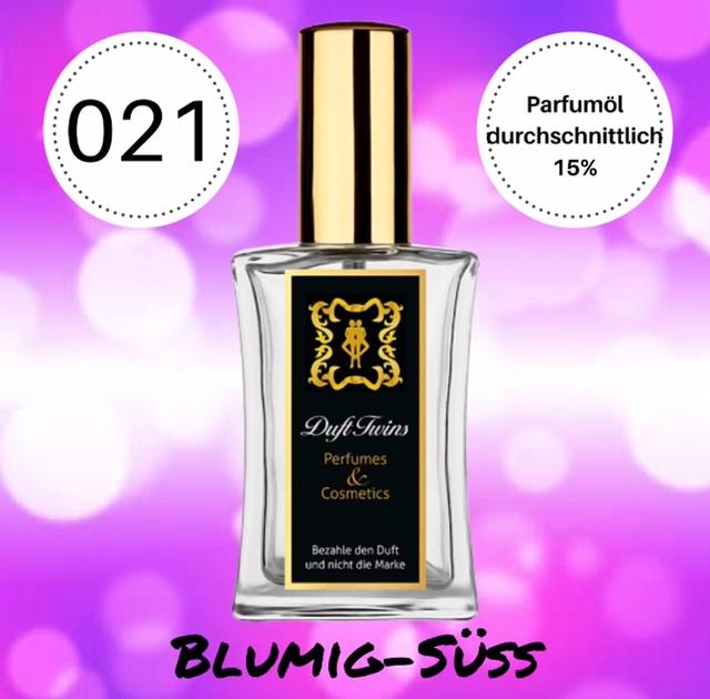 Bild zum Artikel: Eau de Parfum für Damen DuftTwins.eu - No.021 - Blumig Süß Holzig Pudrig