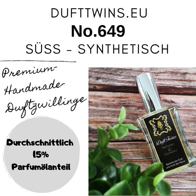 Bild zum Artikel: Eau de Parfum für Herren - No.649 - Süß Synthetisch Holzig Frisch