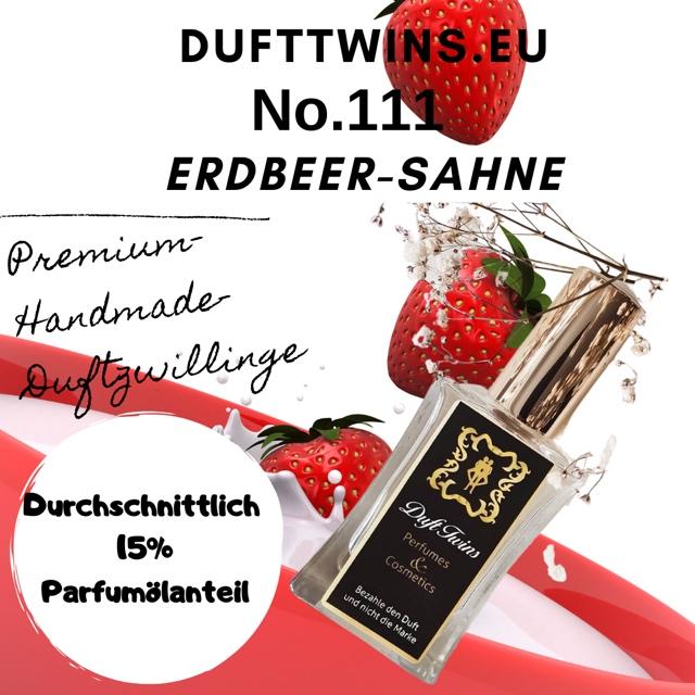 Bild zum Artikel: Eau de Parfum für Damen (Pure Essence) No.111 Erdbeeren mit Sahne