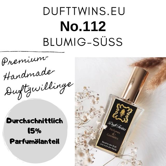 Bild zum Artikel: Eau de Parfum für Damen - No.112 - Blumig Süß Fruchtig Frisch