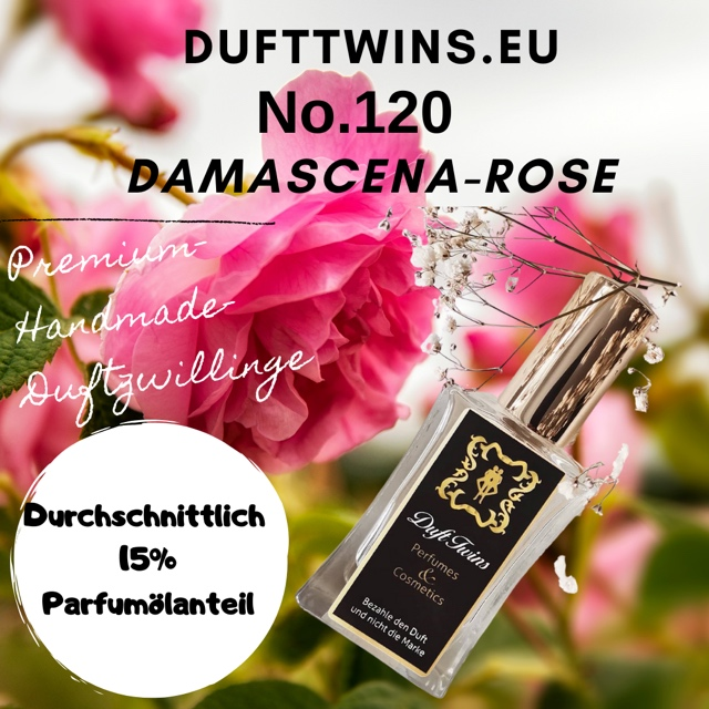 Bild zum Artikel: Eau de Parfum für Damen (Pure Essence) No.120 Damascena-Rose