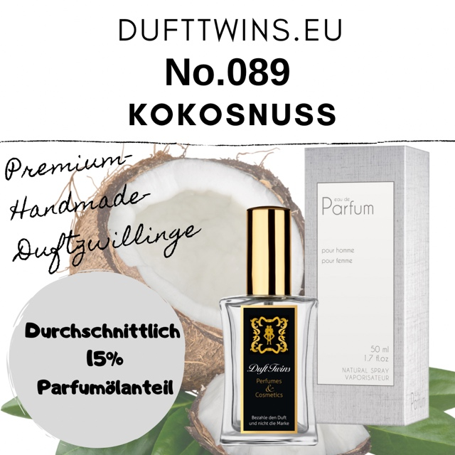 Bild zum Artikel: Eau de Parfum für Damen (Pure Essence) No.089 Pure Kokosnuss / Coconut