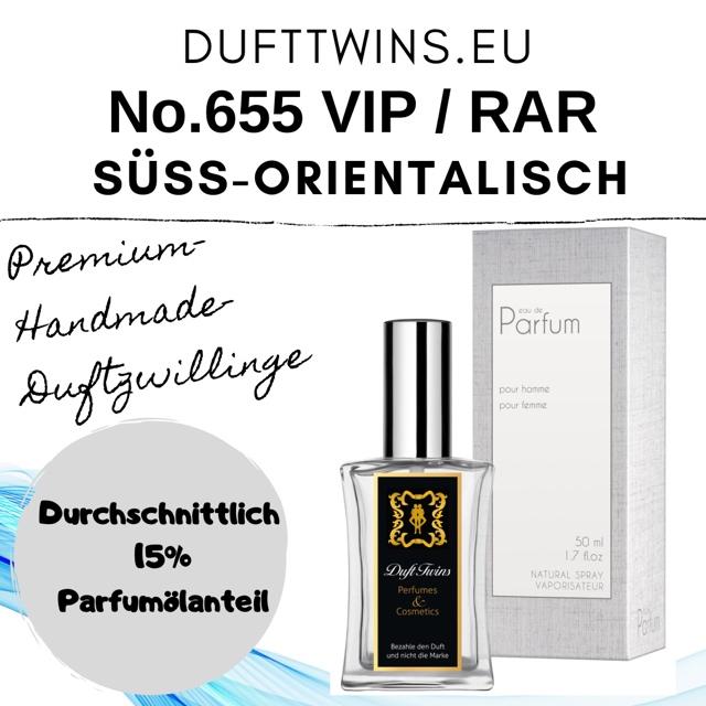 Bild zum Artikel: Eau de Parfum (VIP) (RAR) für Damen und Herren (Unisex) - No.655 - Süß Orientalisch Gourmand Pudrig Würzig