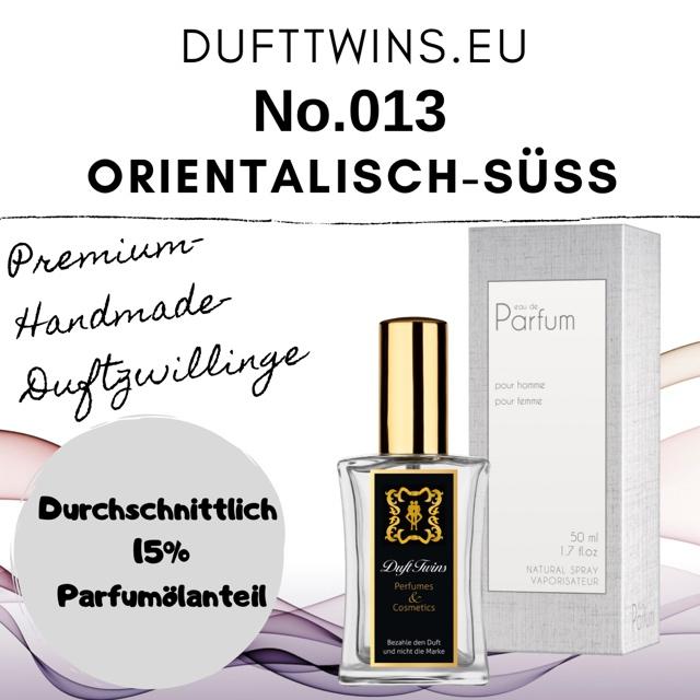 Bild zum Artikel: Eau de Parfum für Damen - No.013 - Orientalisch Süß Blumig Würzig Pudrig