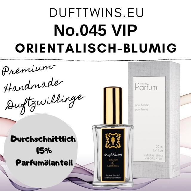 Bild zum Artikel: Eau de Parfum für Damen (VIP) - No.045 - Orientalisch Blumig Würzig Süß Fruchtig