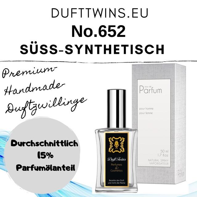 Bild zum Artikel: Eau de Parfum für Herren - No.652 - Süß Synthetisch Frisch Fruchtig Holzig