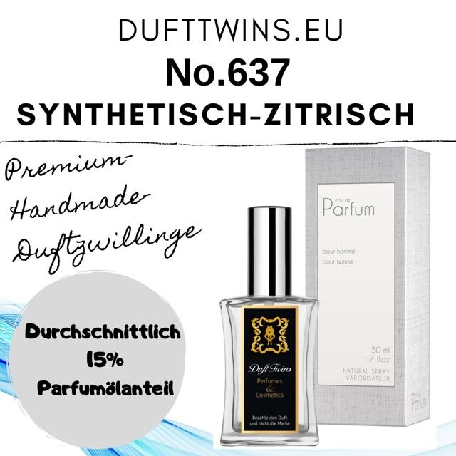 Bild zum Artikel: Eau de Parfum für Herren - No.637 - Synthetisch Zitrisch Süß Frisch