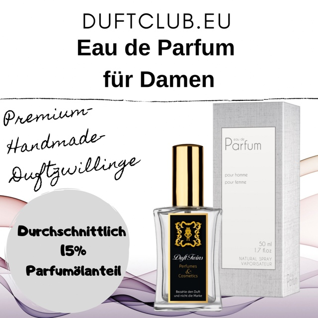 Bild zum Artikel Eau de Parfum Duftzwillinge fr Damen Auswahlliste  Flakon je 50ml Inhalt