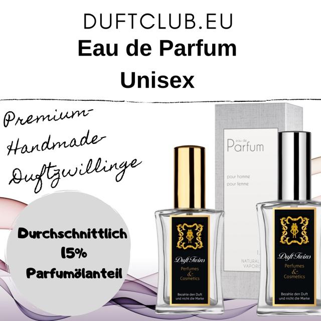 Bild zum Artikel: Eau de Parfum Duftzwillinge für Unisex (Auswahlliste) / Flakon je 50ml Inhalt